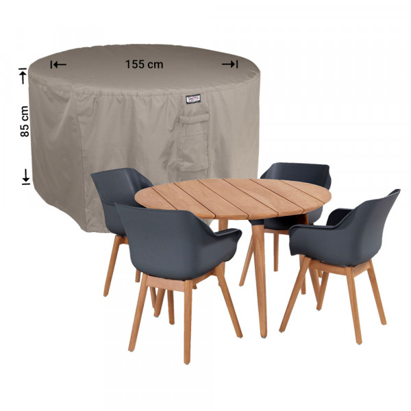 Ronde tuinsethoes Ø: 155cm & H: 85 cm