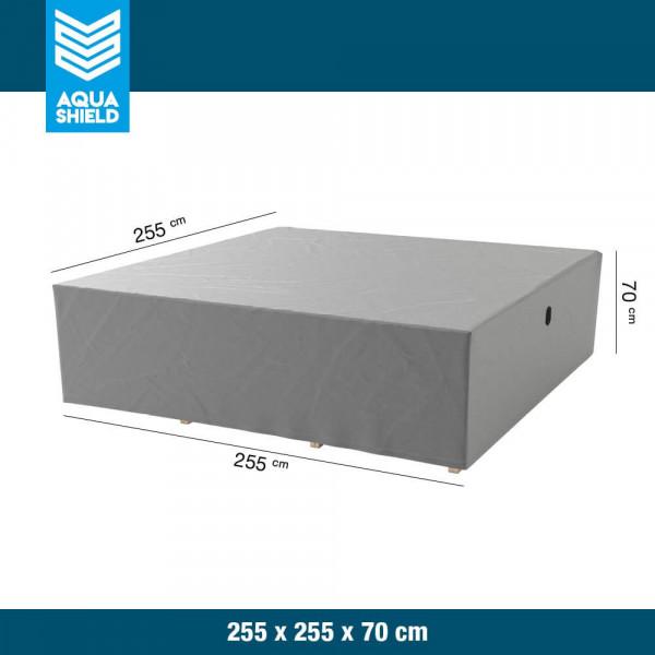 Hoes voor loungeset 255 x 255 H: 70 cm