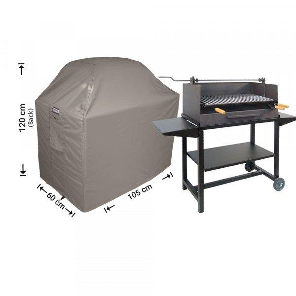 Barbecue afdekhoes 105 x 60 H: 110/100 cm