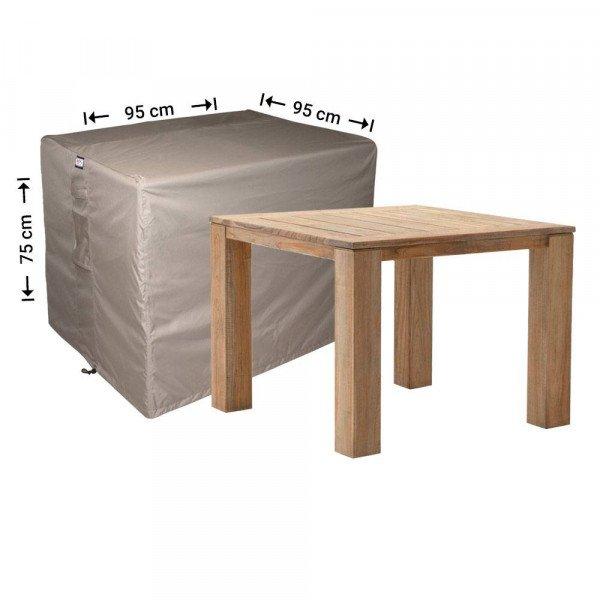 Buitenhoes tafel 95 x 95 H: 75 cm