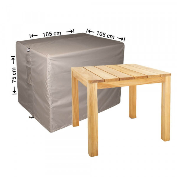 Hoes voor tuintafel 105 x 105 H: 75 cm