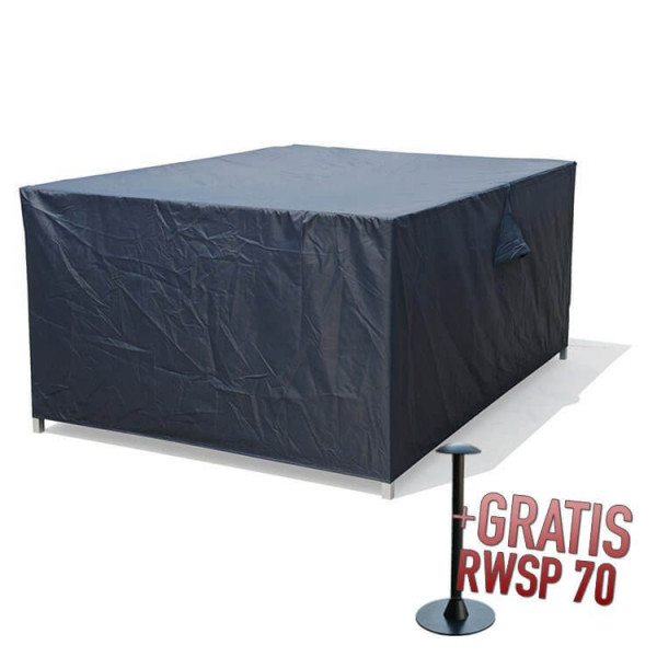 Afdekhoes complete loungeset 255 x 255 H: 72 cm